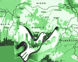 Nigeria with dove - GREEN - invite copy