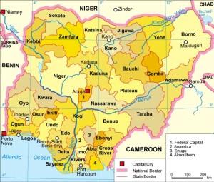 Nigeria has the highest population in Africa