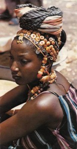 Fulani woman with headwear