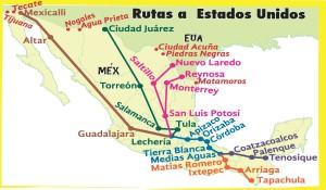 3 Train map