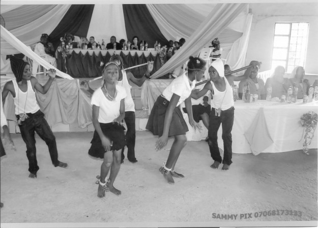 Children dancing at the  Vow Celebration