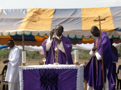 Bishop Michael Apochi, Bishop, Cth. Diocese of Otukpo - Opening Mass