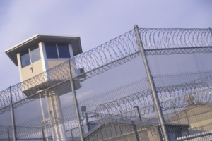 Dilley detention center guard tower