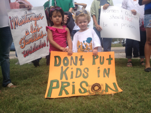 Dont put kids in prison