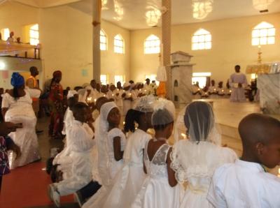 1st communion under both species
