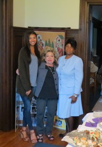 Kaitlyn Clark,  Janet Saponaro, Thelma Wilson