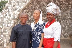Sr. Jennifer with her parents