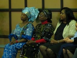 Thelma Wilson, Sr. Elizabeth HVM, Marjorie Gabriel-Burrow